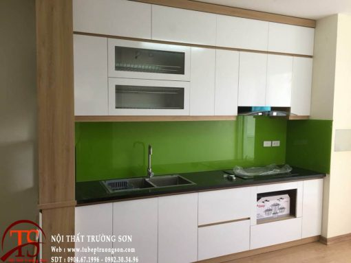 Tủ bếp gỗ Melamine